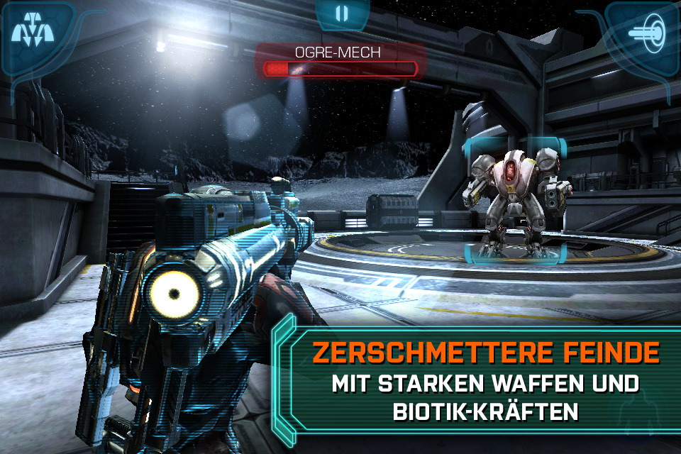 MASS EFFECT™ INFILTRATOR iPhone, iPad Screenshot