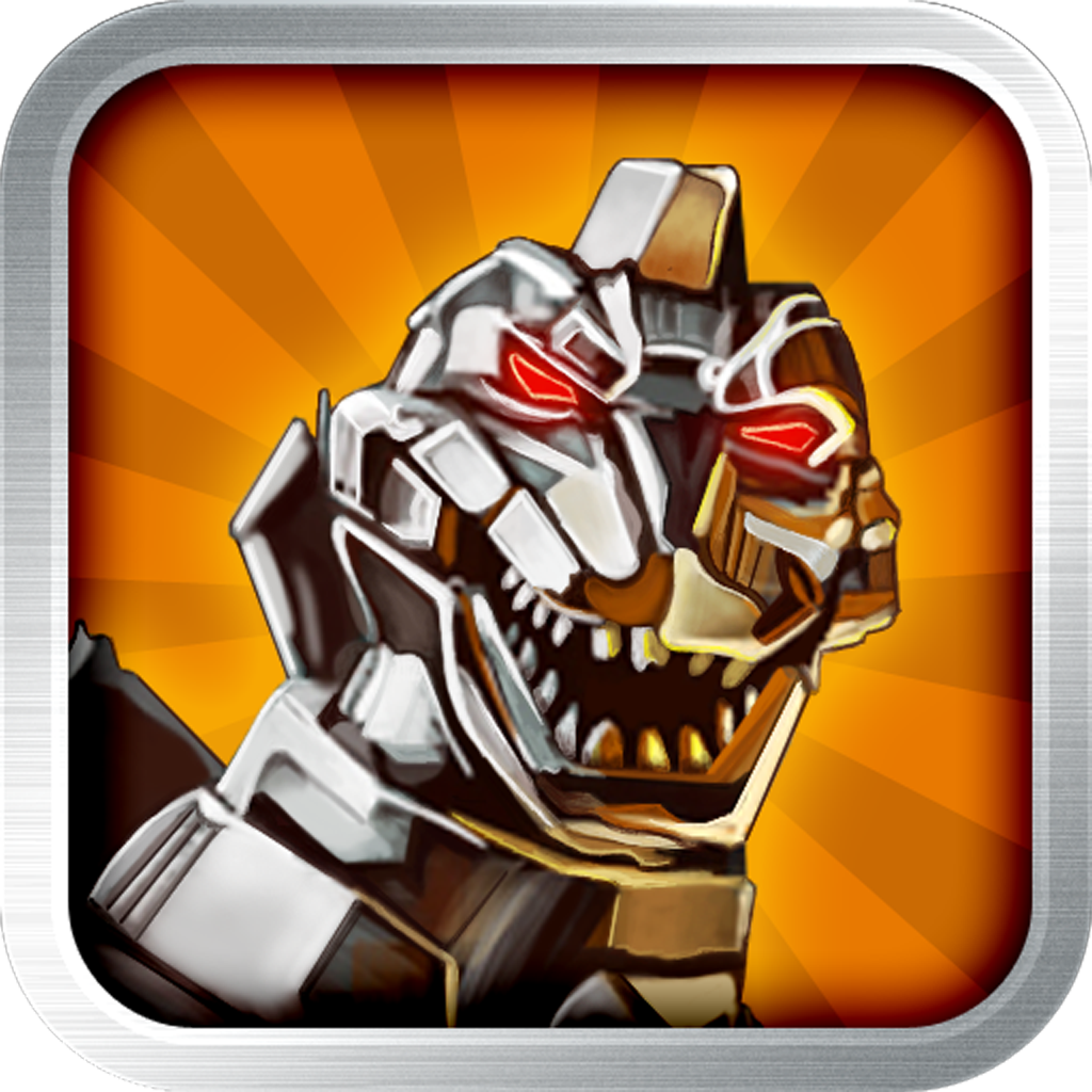 Cyborg Dinosaur: Boom Jump with Steel Carnivores in the Robotic Cyber Era - Pro Jumper Game